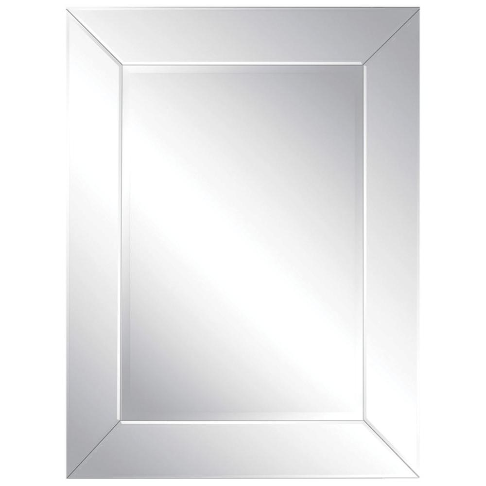 Ren-Wil Luna 40 in. x 30 in. All Glass Mirror