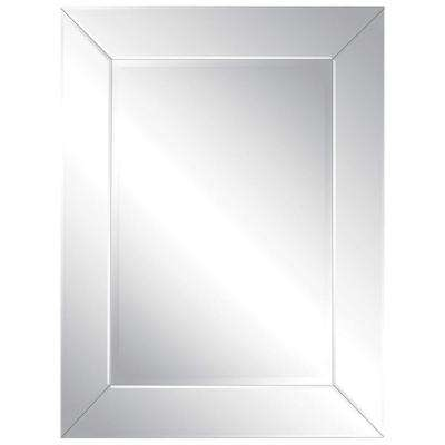 Luna 40 in. x 30 in. All Glass Mirror