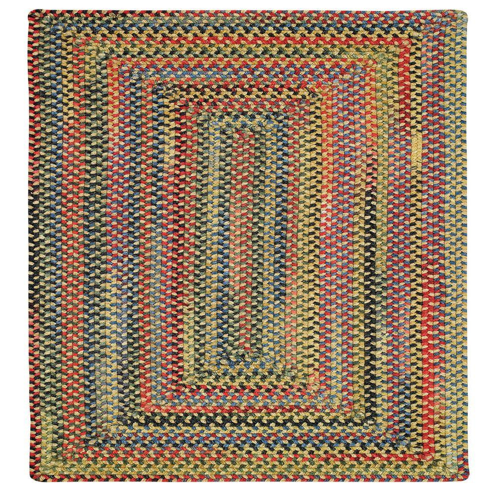 Capel Star Gold Finch 3 ft. Concentric Square Area Rug