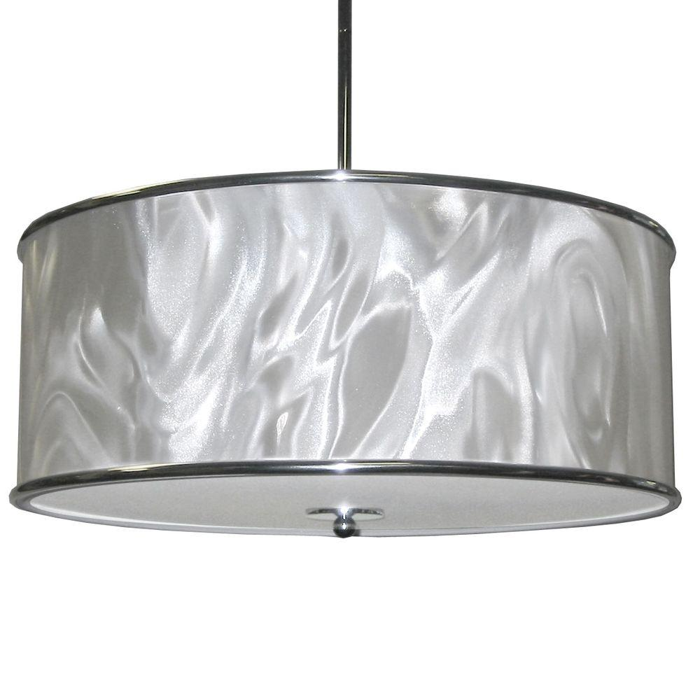 Catherine 3-Light Polished Chrome Pendant