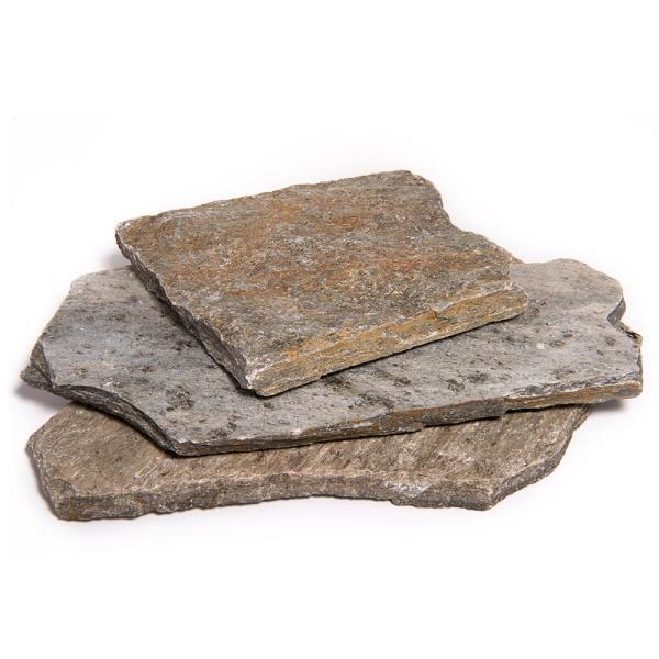 Southwest Boulder Stone 16 In X 12 In X 2 In 120 Sq Ft Storm Mountain Natural Flagstone For Landscape Gardens And Pathways 02 0222 The Home Depot