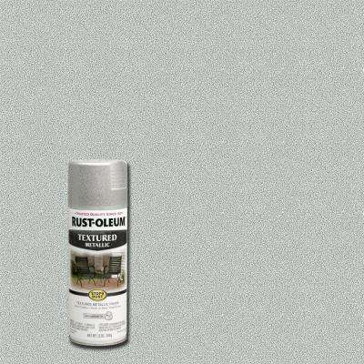 12 oz. Textured Metallic Silver Protective Spray Paint