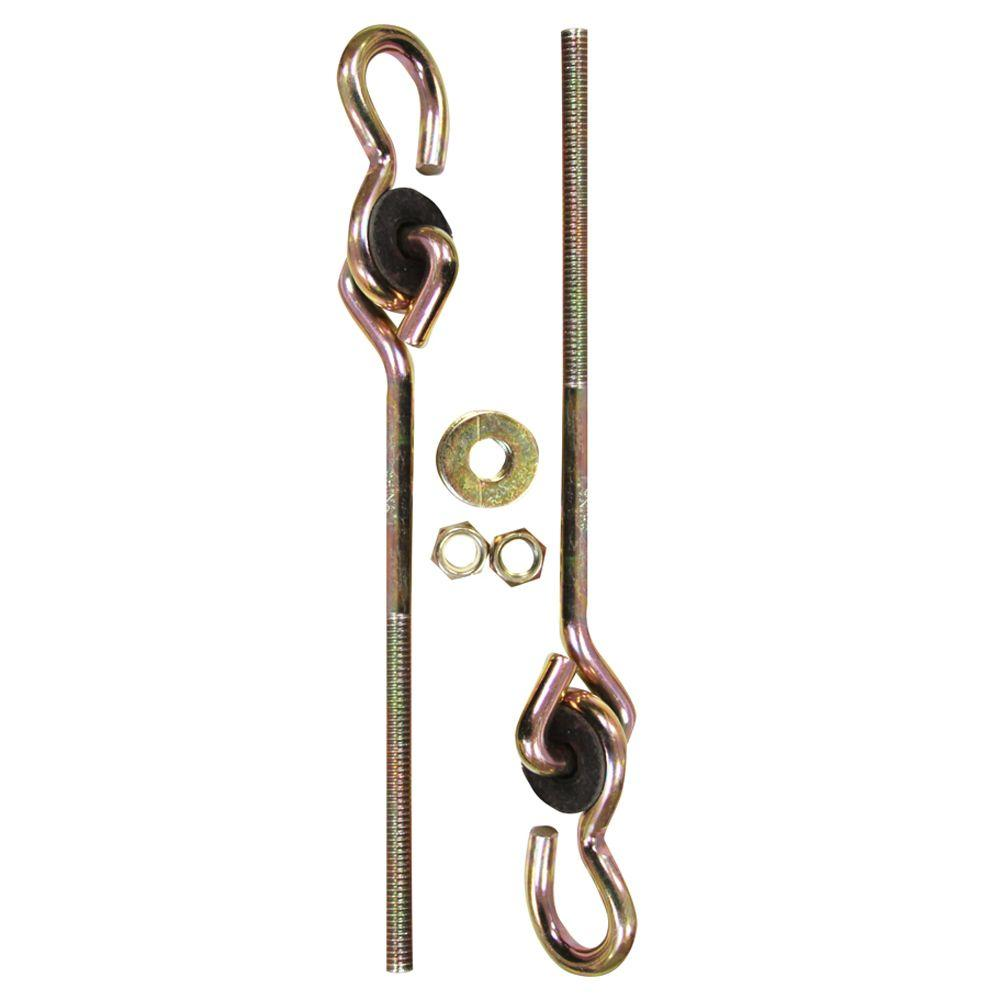 Lehigh 2 Piece Swing Hardware Set 7402s 6 The Home Depot