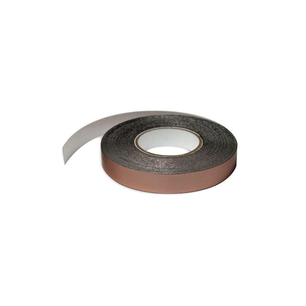 1 in. Wide x 100 ft. Long Roll Deco-Tape Faux Bronze