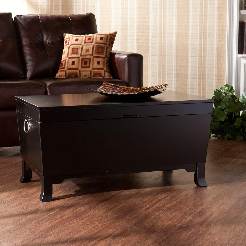 Mabel Black Coffee Table. Coffee Table   Accent Tables   Living Room Furniture   The Home Depot