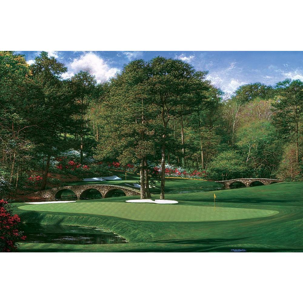 Brewster 72 in. x 96 in. Golf Scene Wall Mural