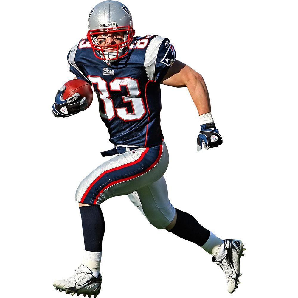 Fathead 46 in. x 71 in. Wes Welker Wall Decal