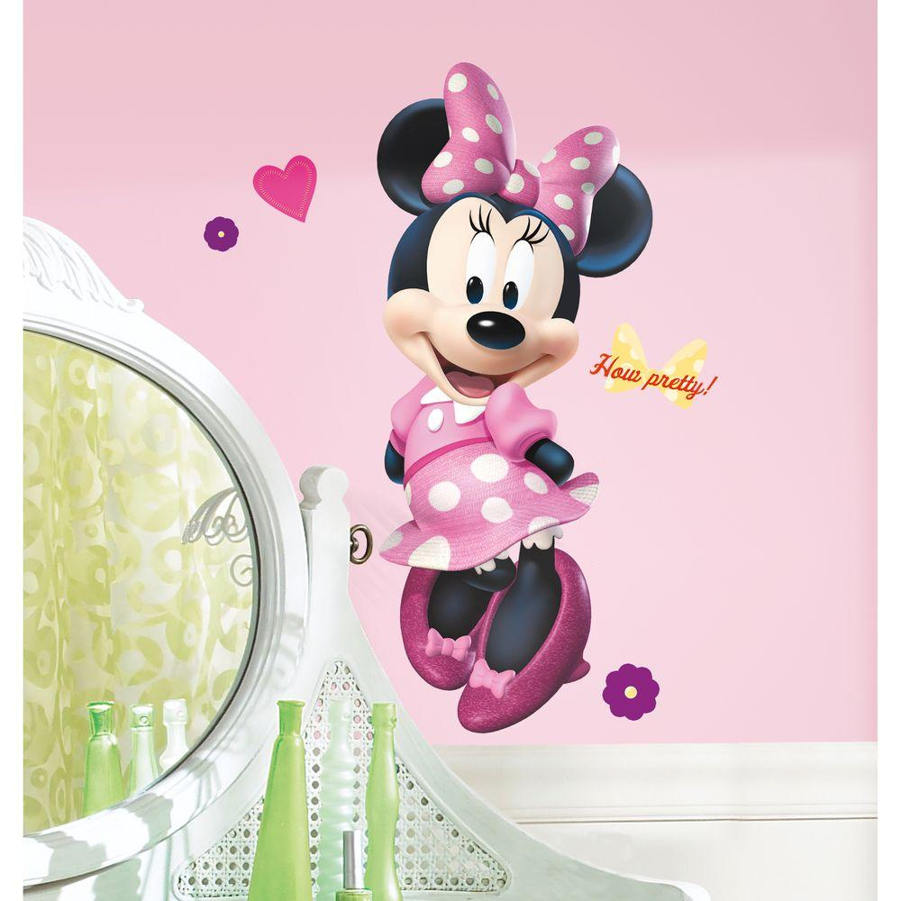 18 in. x 40 in. Mickey and Friends - Minnie Bow-tique