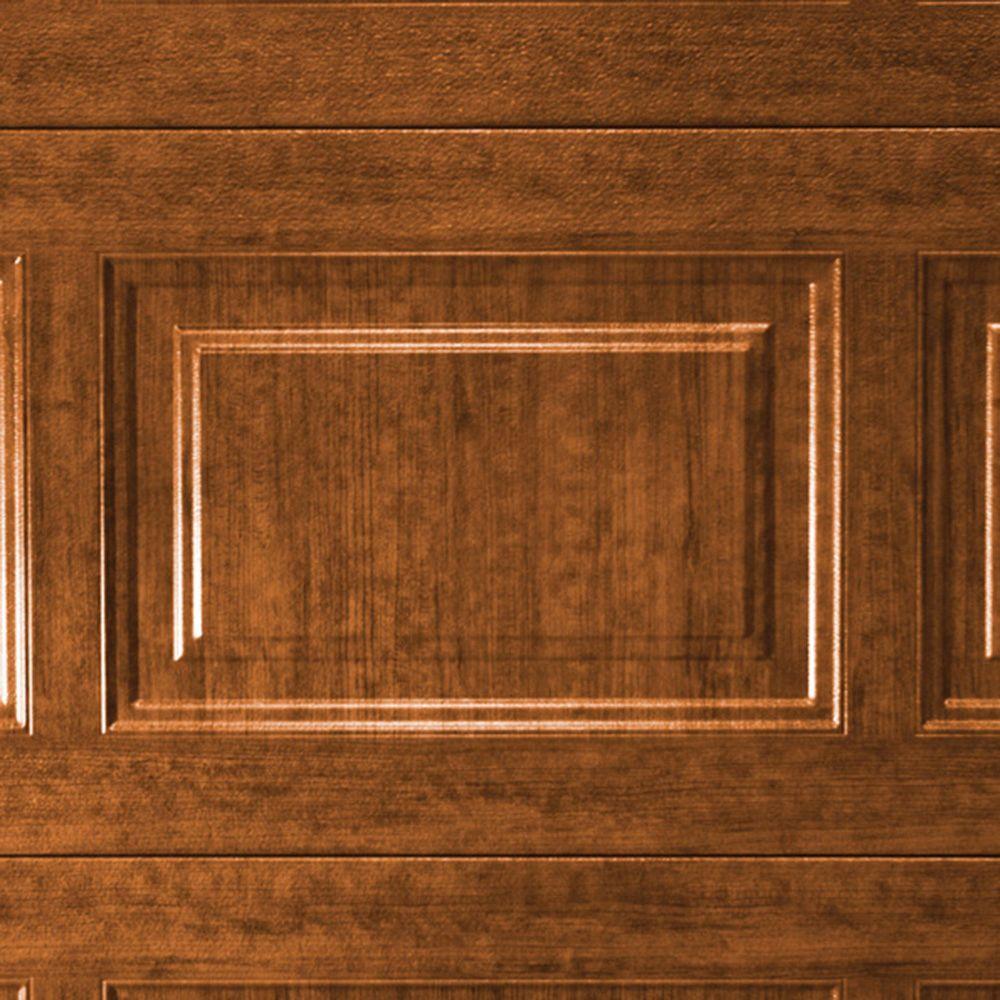 5 in. x 2.5 in. Steel Garage Door Color Sample in Ultra-Grain Medium Finish