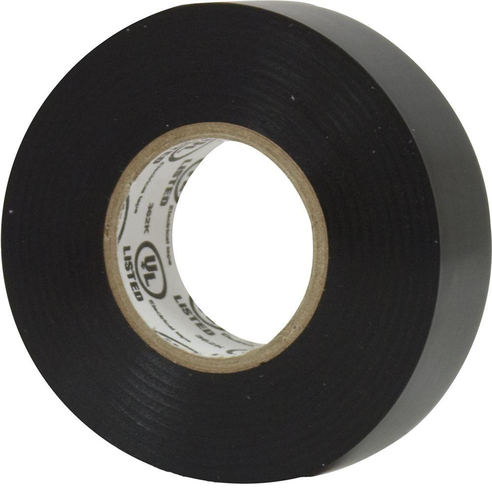 Scotch 3-Pack 66.0 ft Electrical Tape Vinyl Rolls Black Scotch Flame Resistant