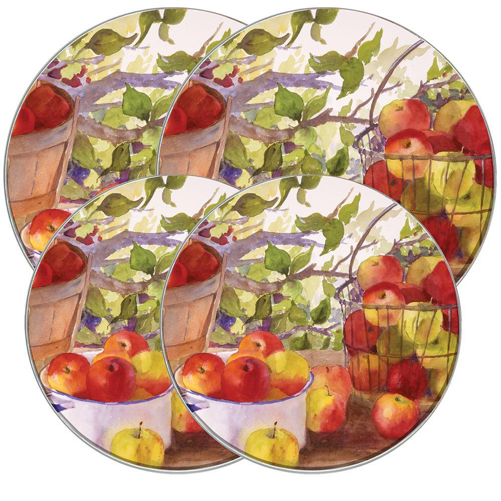 Apple Harvest Round Burner Kovers