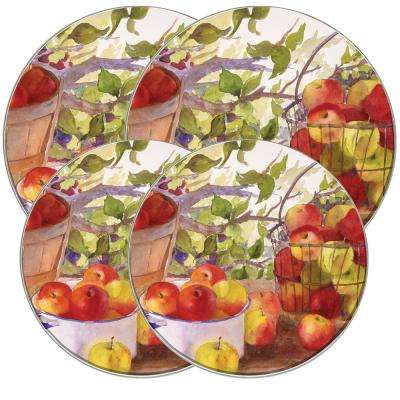 Apple Harvest Round Burner Kovers