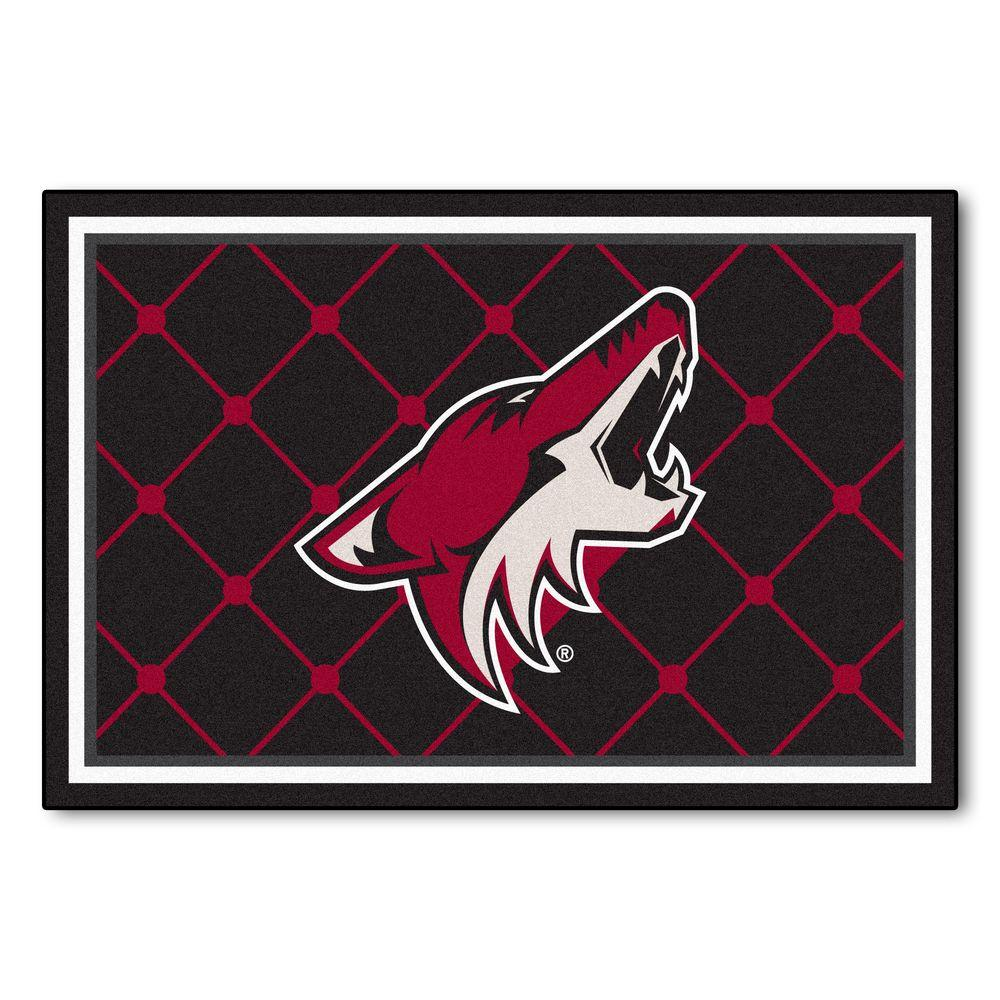Phoenix Coyotes 5 ft. x 8 ft. Area Rug