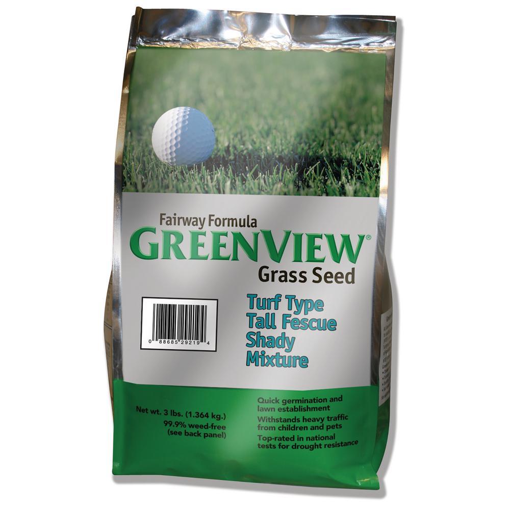 5 lbs. Fairway Formula Turf Type Tall Fescue Shady Grass Seed