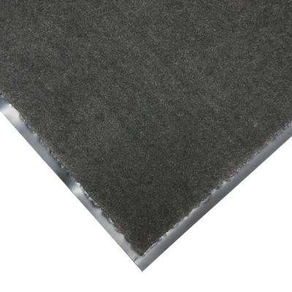 Tuff Plush Charcoal 4 ft. x 6 ft. Polypropylene Carpet Floor Mat
