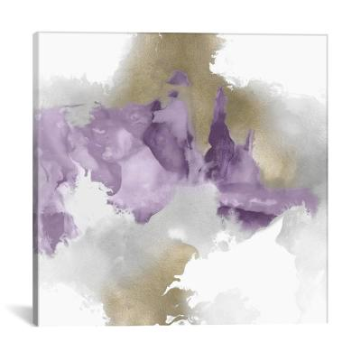 """Derive In Amethyst II"" by Daniela Hudson Canvas Wall Art"