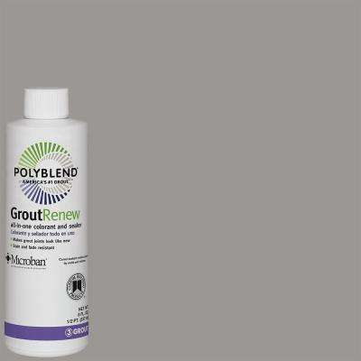 Polyblend #165 Delorean Gray 8 oz. Grout Renew Colorant
