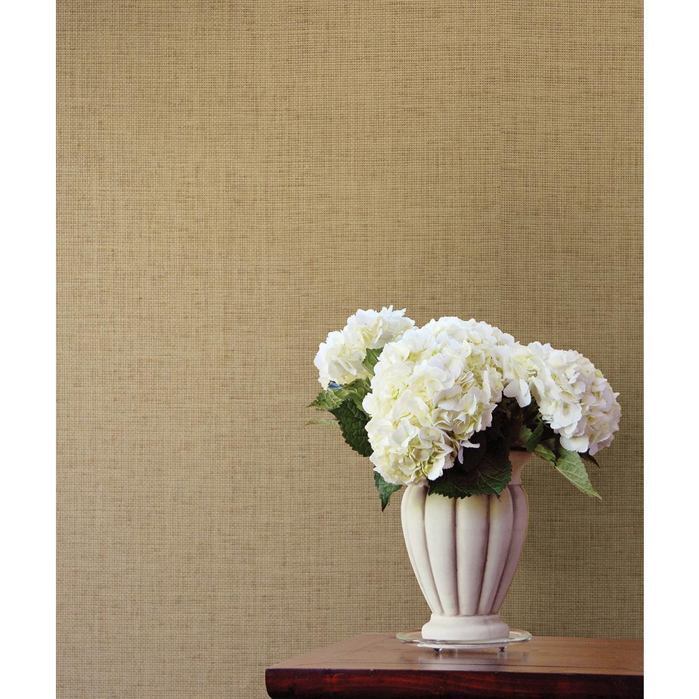 Pavel Sand Grasscloth Wallpaper Sample