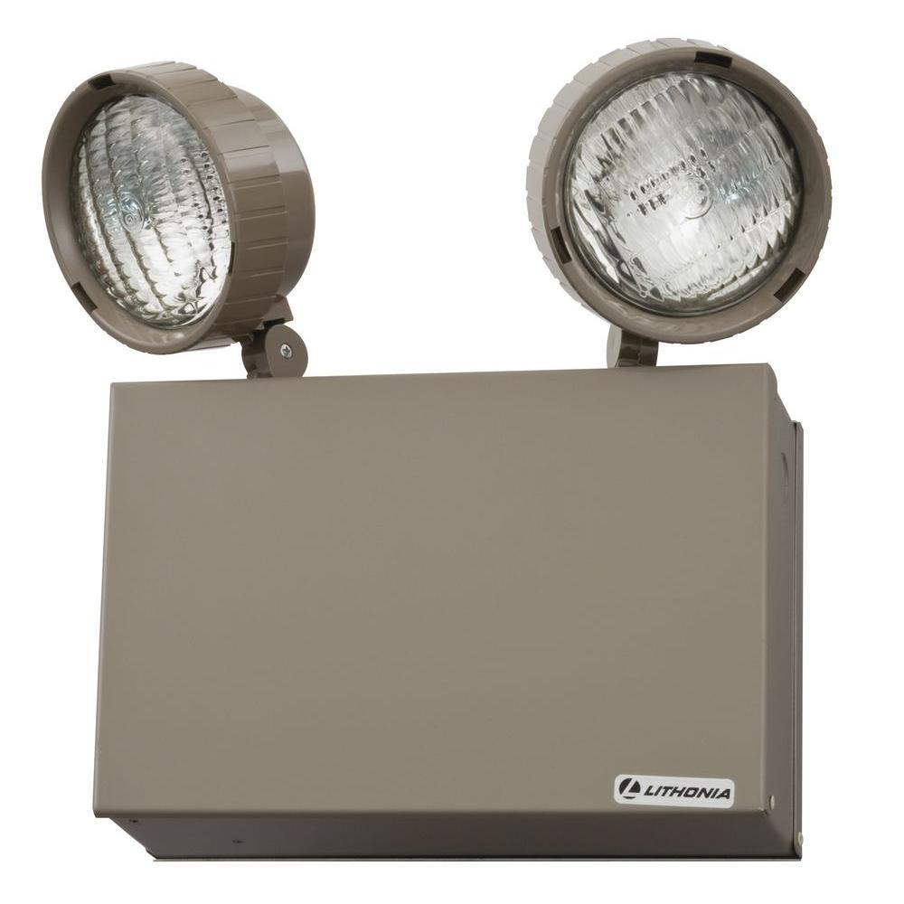 16-Watt Steel Incandescent Emergency Lighting Unit