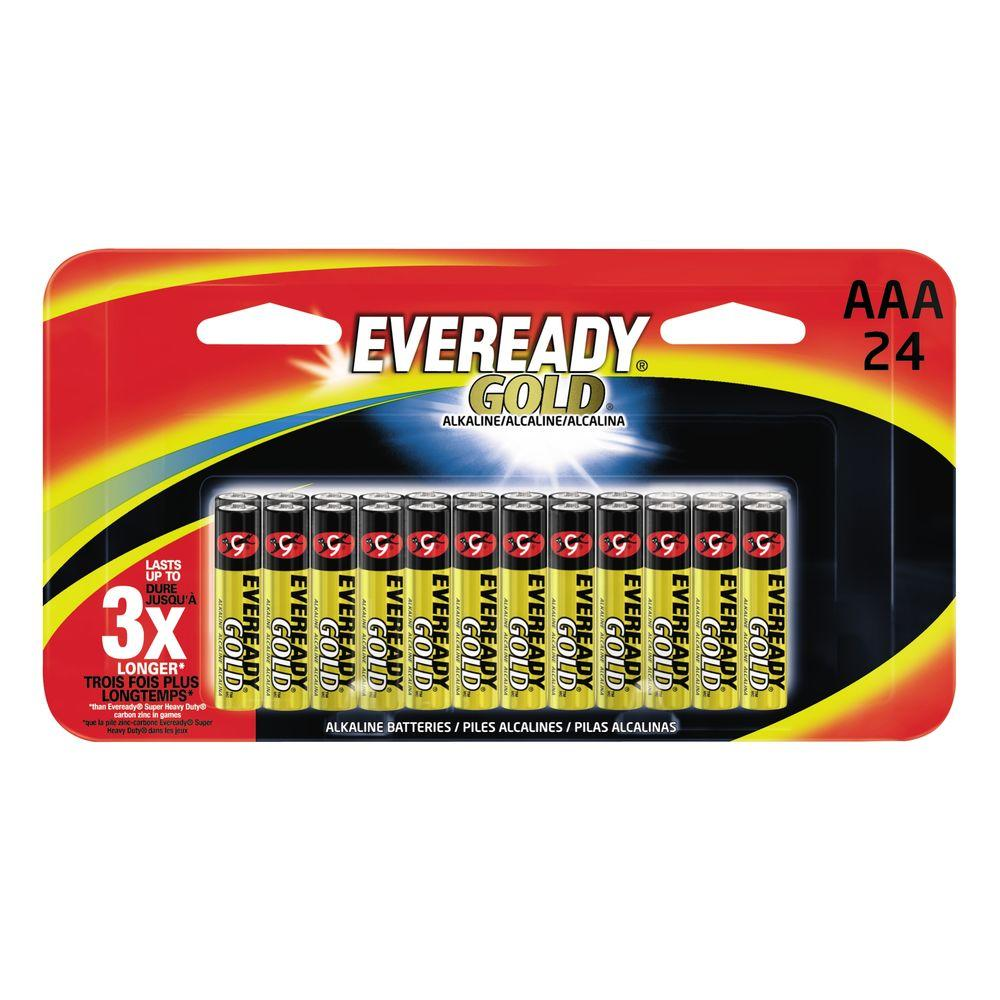 Energizer Energizer Alkaline AAA Eveready Gold (24-Pack)