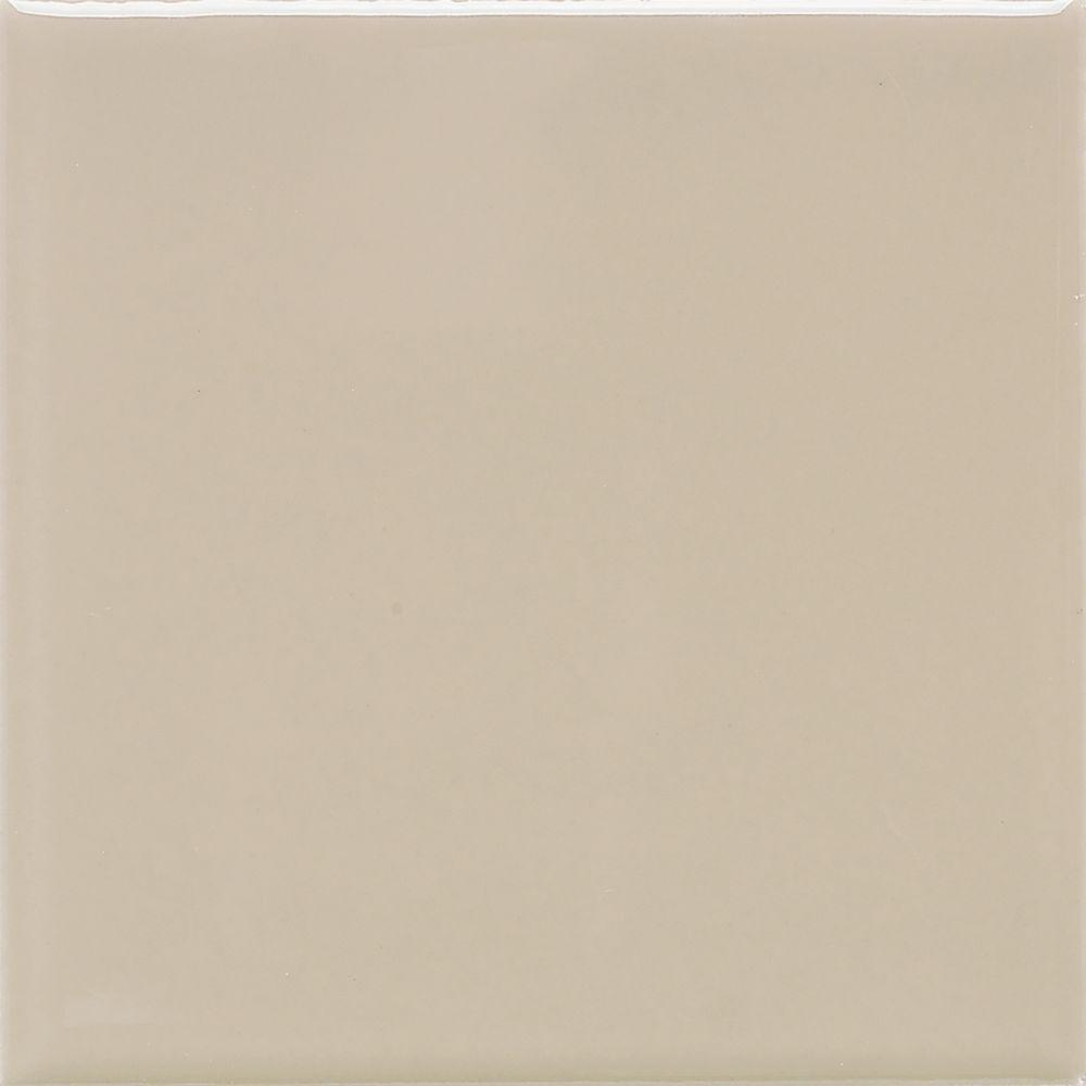 Daltile semi gloss urban putty 4 14 in x 4 14 in ceramic wall daltile semi gloss urban putty 4 14 in x 4 dailygadgetfo Image collections