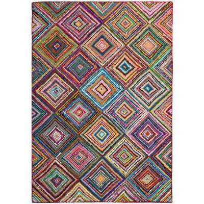 Nantucket Multi 6 ft. x 9 ft. Area Rug