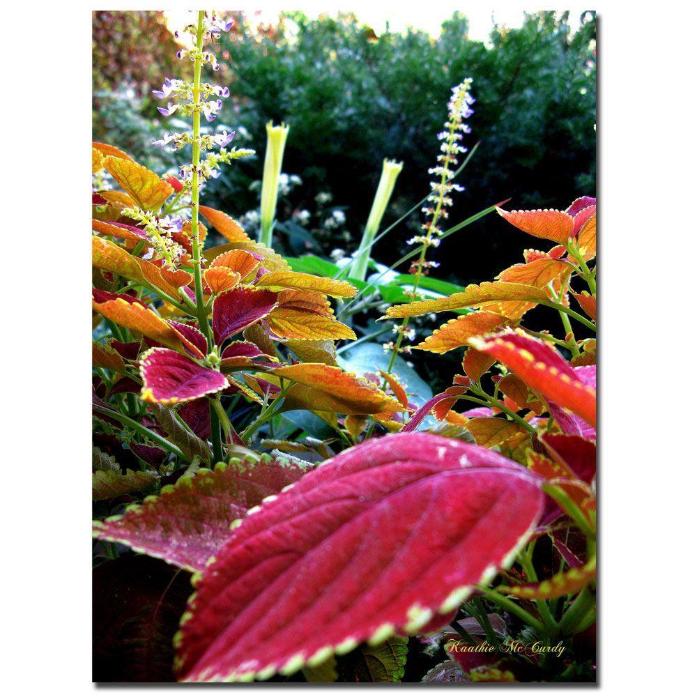 24 in. x 32 in. Magical Garden II Canvas Art