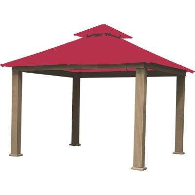 12 Ft. X 12 Ft. Hibiscus Gazebo