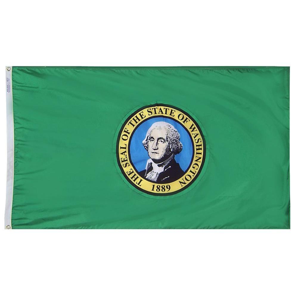 4 ft. x 6 ft. Washington State Flag