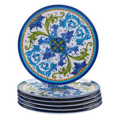 Lucca Multicolor Dinner Plate (Set of 6)