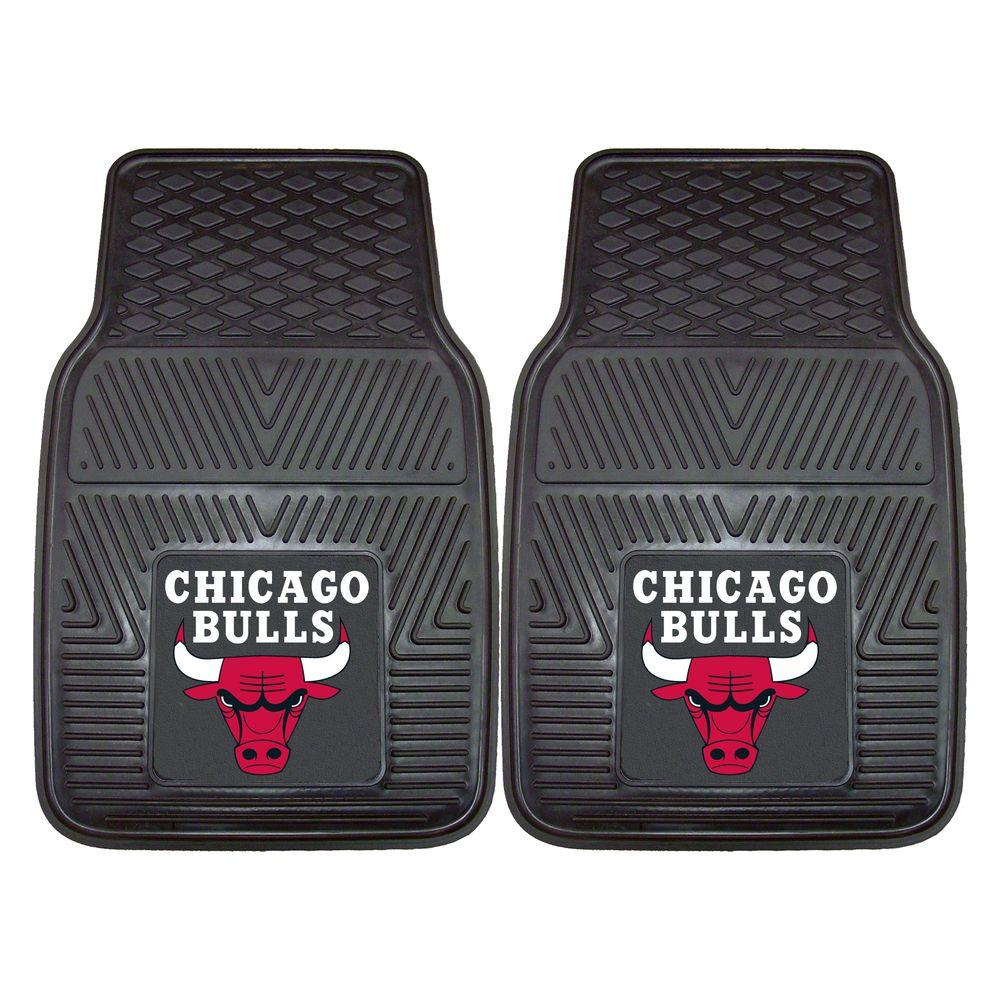 Chicago Bulls 18 in. x 27 in. 2-Piece Heavy Duty Vinyl