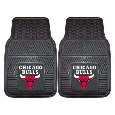 Chicago Bulls 18 in. x 27 in. 2-Piece Heavy Duty Vinyl Car Mat