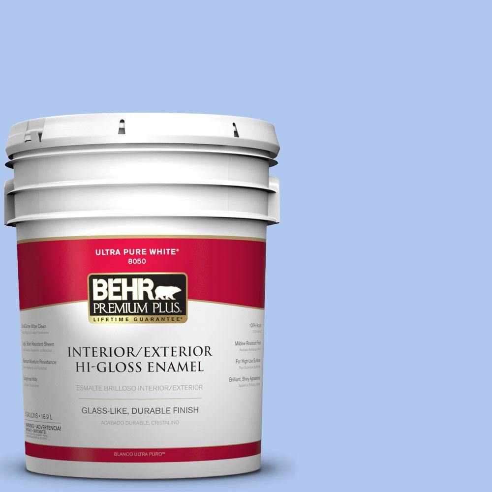 BEHR Premium Plus 5-gal. #P530-2 Promise Keeping Hi-Gloss Enamel Interior/Exterior Paint