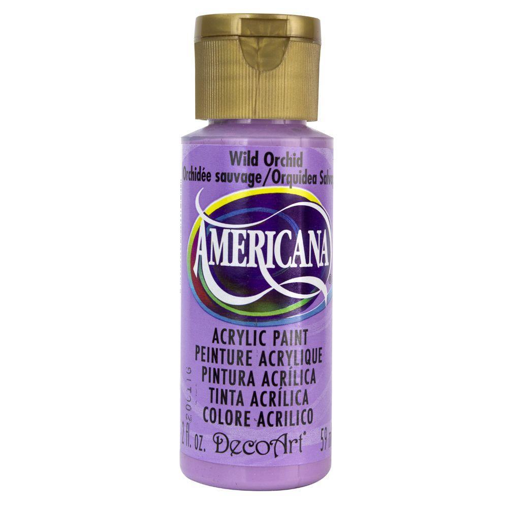 Americana 2 oz. Wild Orchid Acrylic Paint