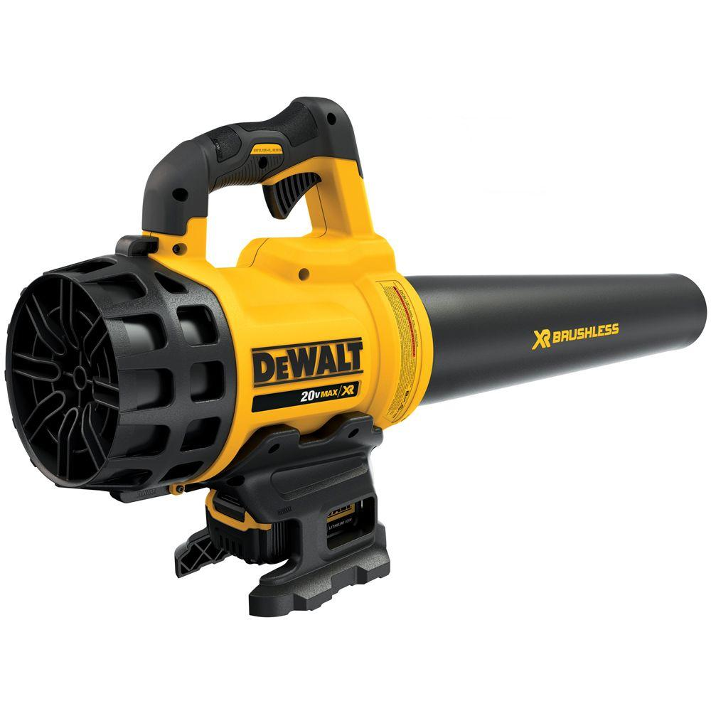 DEWALT 20-Volt MAX Lithium-Ion Cordless 90 MPH 400 CFM Handheld Leaf Blower with 5.0Ah Battery and Charger Included