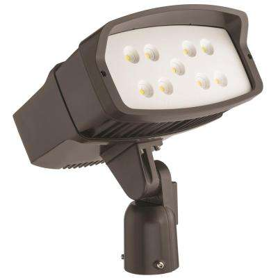 OFL2 LED Bronze Outdoor Flood Light