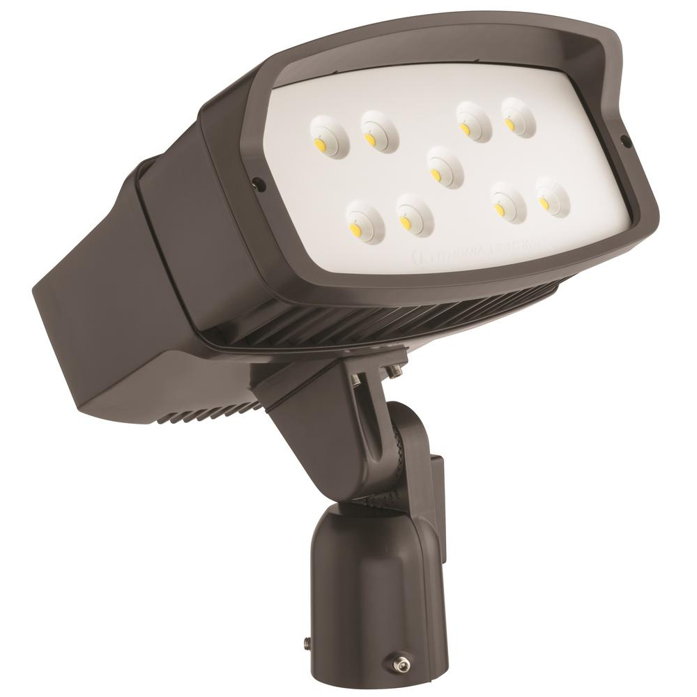 Lithonia Lighting OFL2 LED Bronze Outdoor Flood Light-OFL2