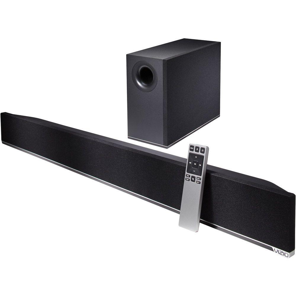 VIZIO 38 in. 2.1 Sound Bar with Wireless Powered Subwoofer