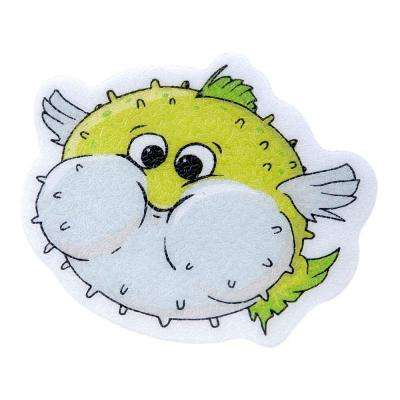 Puffer Fish Tub Tattoos (5-Count)