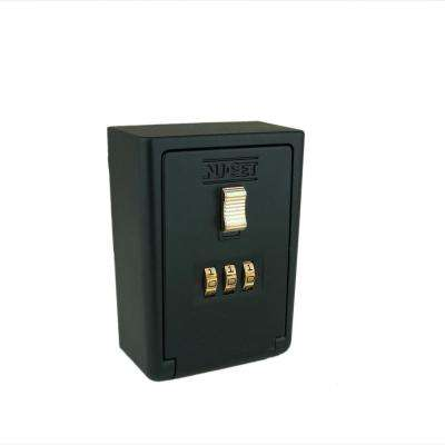3 Digit Numeric Combination Lock Box, Wall Mount
