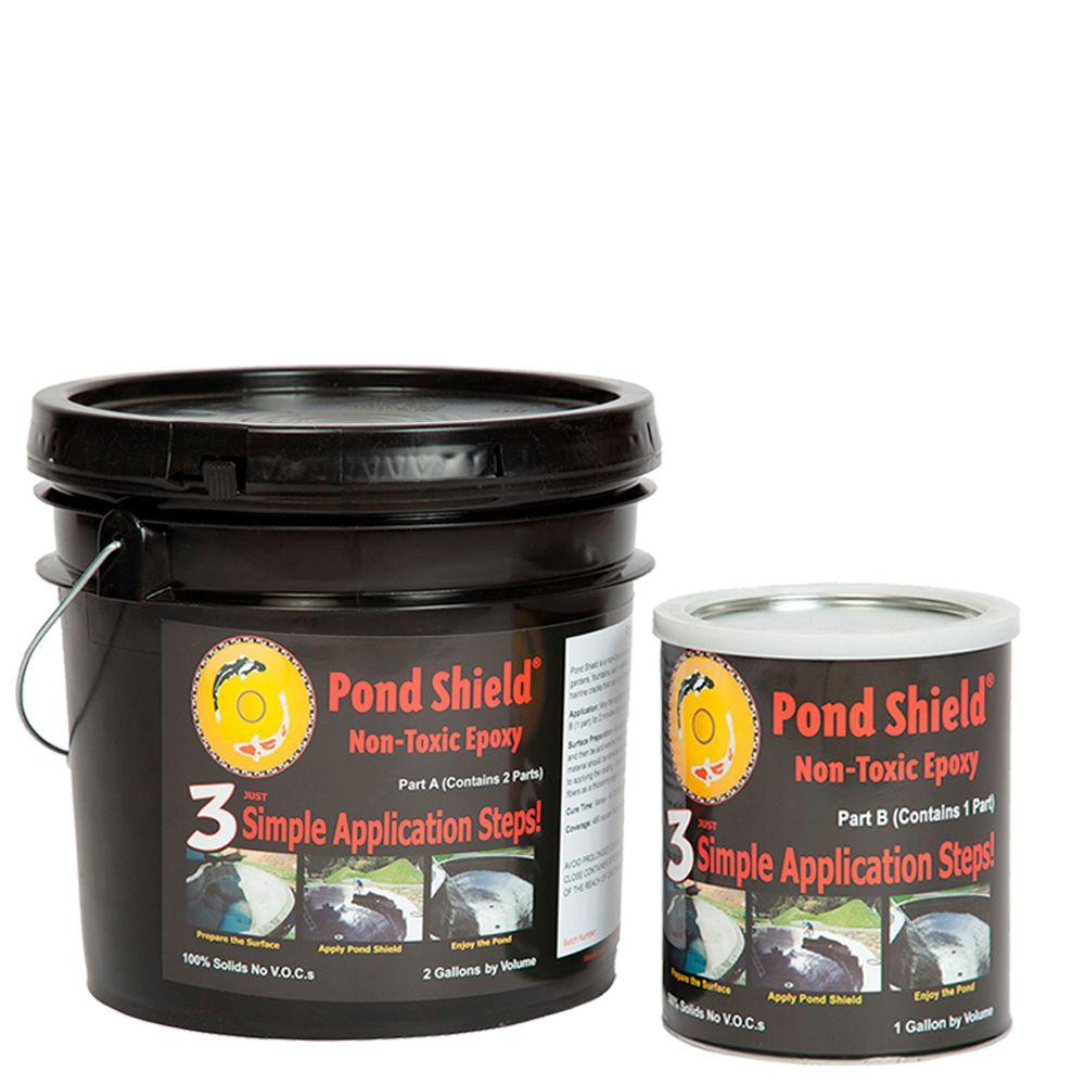 Pond Armor Pond Shield 3-gal. Clear Non Toxic Epoxy