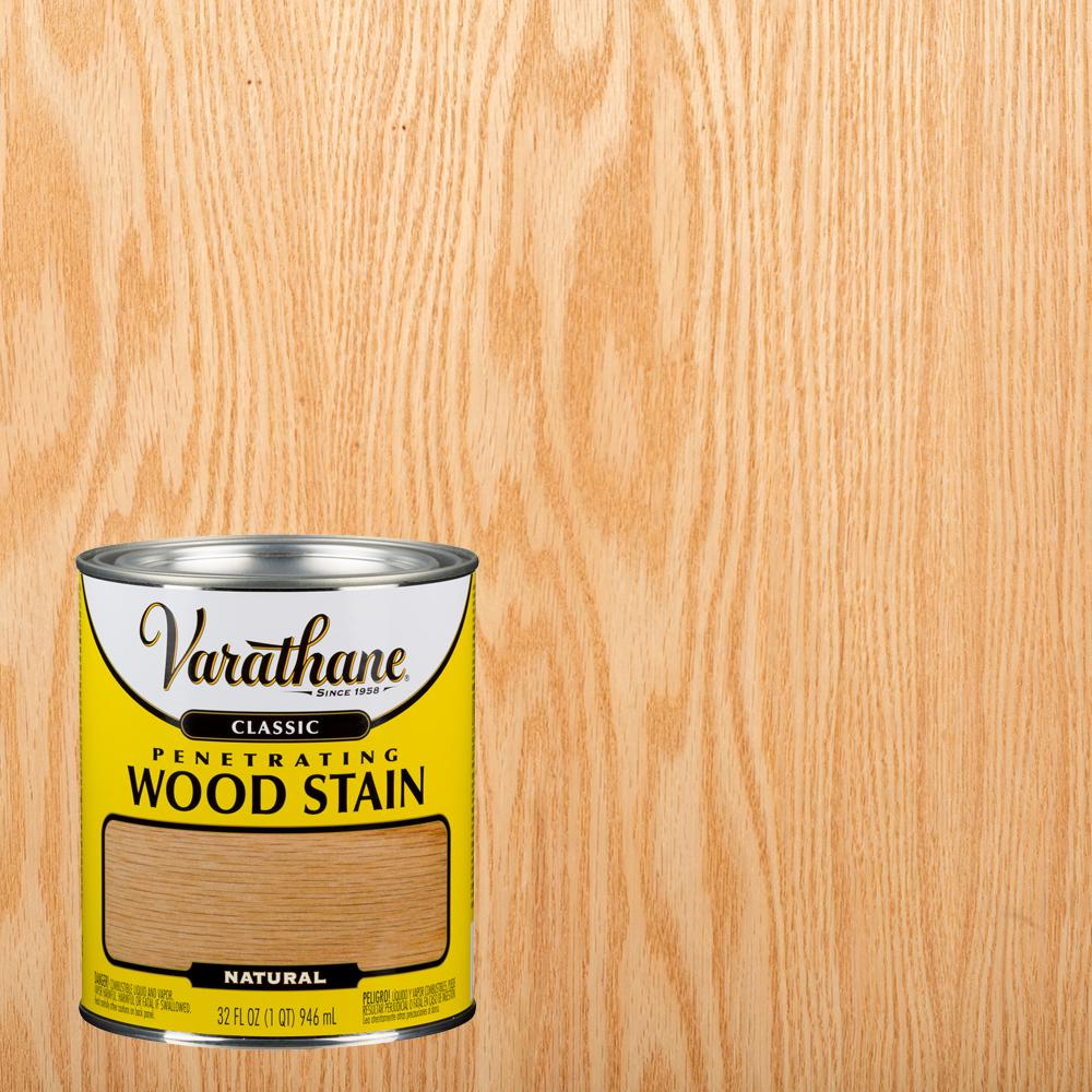Varathane 1 qt. Natural Classic Wood Interior Stain