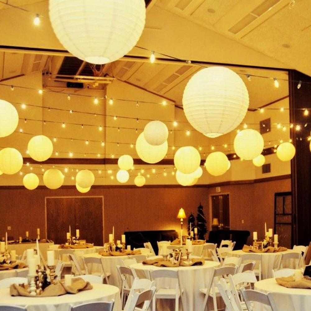 White Paper Lanterns For Great Chinese