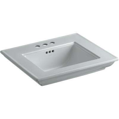 Memoirs Stately 24.5 in. x  4 in. Centerset Console Sink Basin inIce Grey