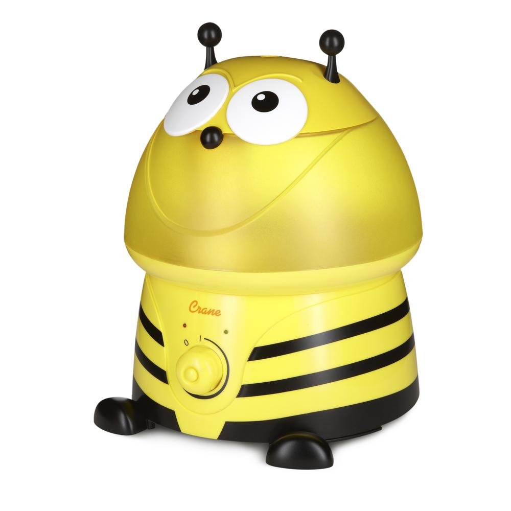 Adorable Ultrasonic Cool Mist Humidifier in Bumble Bee with Filter