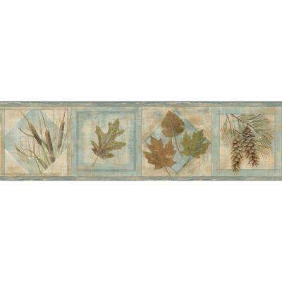 Seminole Greenleaf Wallpaper Border