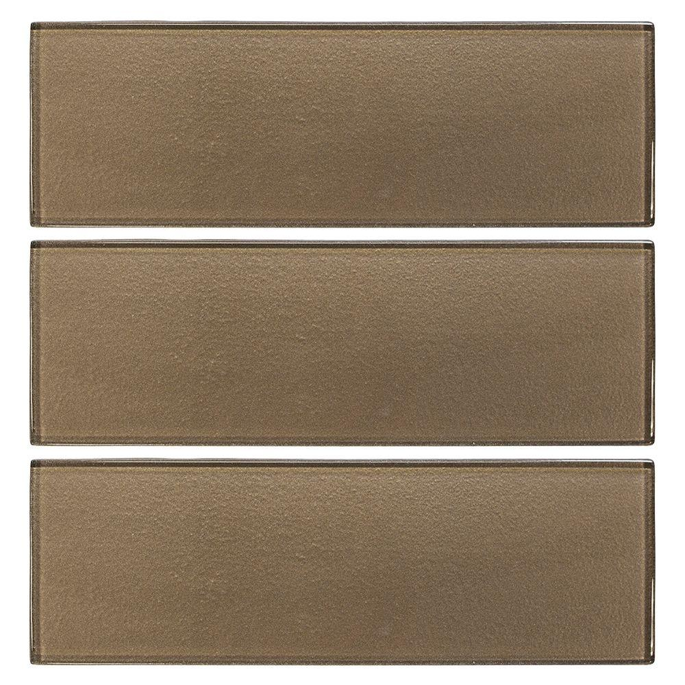 Backsplash metal tile tile the home depot glass wall tile 3 pack dailygadgetfo Choice Image