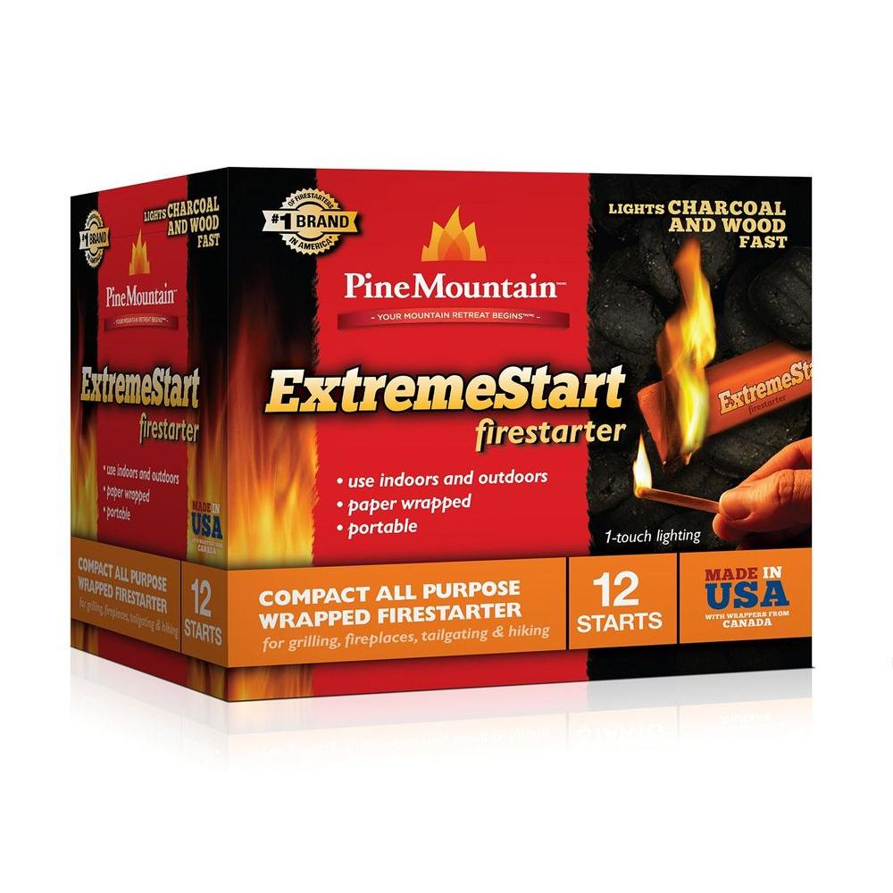 Extreme Start Wrapped Fire Starter (12-Pack)