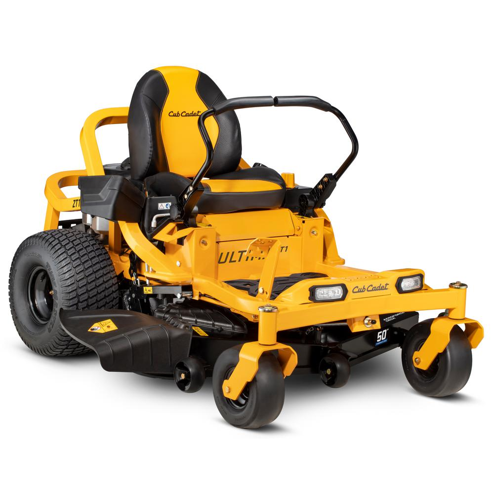 Cub Cadet Ultima Zt1 50 In 23 Hp Kawasaki Fr Series V Twin Dual Hydrostatic Zero Turn Mower With Lap Bar Control