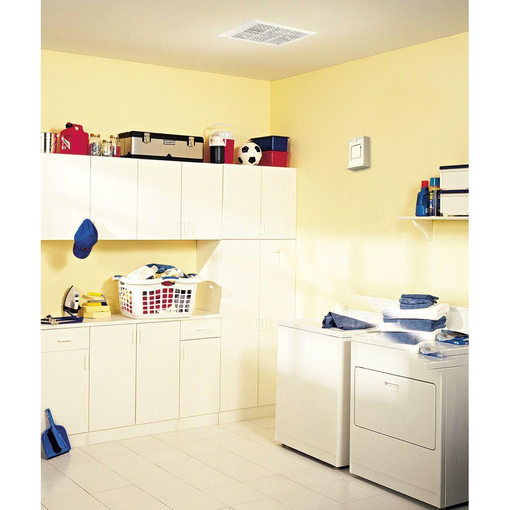 50 CFM Wall/Ceiling Mount Bathroom Exhaust Fan